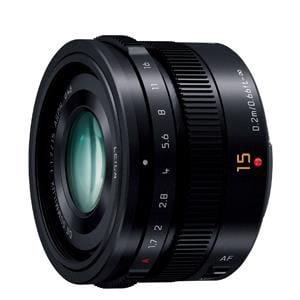 Panasonic 【マイクロフォーサーズ】LEICA DG SUMMILUX 15mm/F1.7 ASPH.(ブラック) H-X015-K