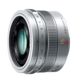 パナソニック 【マイクロフォーサーズ】LEICA DG SUMMILUX 15mm/F1.7 ASPH.(シルバー) H-X015-S