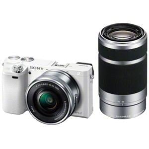 ソニー デジタル一眼カメラ α6000 ダブルズームレンズキット (ホワイト) ILCE-6000Y-W