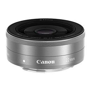 キヤノン 一眼レフカメラ/ミラーレスカメラ用交換レンズ EF-M22mm F2 STM EF-M22STMSL