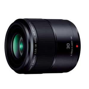 パナソニック 交換用レンズ LUMIX G MACRO 30mm F2.8 ASPH. MEGA O.I.S. H-HS030