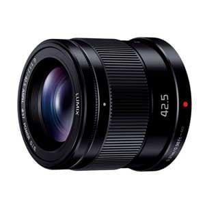 パナソニック 交換用レンズ LUMIX G 42.5mm F1.7 ASPH. POWER O.I.S. H-HS043-K
