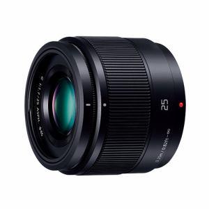 パナソニック 交換用レンズ LUMIX G 25mm/F1.7 ASPH.【マイクロフォーサーズマウント】(ブラック) H-H025-K