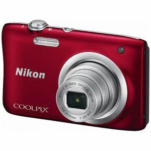 ニコン デジタルカメラ 「COOLPIX(クールピクス)」 A100 レッド A100RD