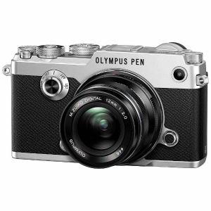 オリンパス ミラーレス一眼カメラ「PEN-F」12mmF2.0 レンズキット(シルバー)