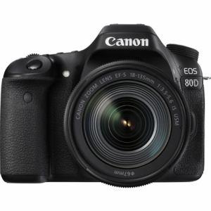キヤノン デジタル一眼カメラ 「EOS 80D」EF-S18-135 IS USMレンズキットK EOS80D18135ISUSMLK