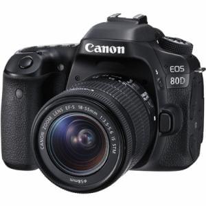 キヤノン デジタル一眼カメラ 「EOS 80D」EF-S18-55 IS STMレンズキット EOS80D1855ISSTMLK