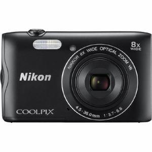 ニコン デジタルカメラ COOLPIX(クールピクス) A300(ブラック) A300BK