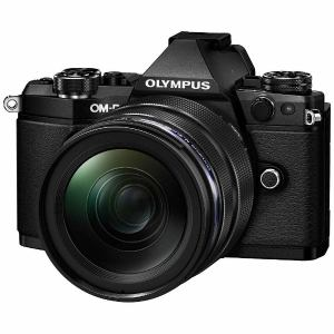 オリンパス ミラーレス一眼カメラ OM-D E-M5 Mark II 12-40mm F2.8 レンズキット ブラック