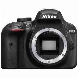 ニコン D3400-BODY-BK デジタル一眼カメラ「D3400」ボディ(ブラック)