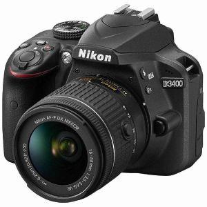 ニコン D3400-LKIT-BK デジタル一眼カメラ「D3400」18-55 VR レンズキット(ブラック)