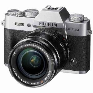 富士フイルム FX-T20LK-S ミラーレス一眼カメラ「FUJIFILM X-T20」 レンズキット (シルバー)