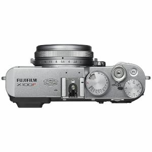 富士フイルム FX-X100F-S プレミアムコンパクトデジタルカメラ FUJIFILM X100F(シルバー)