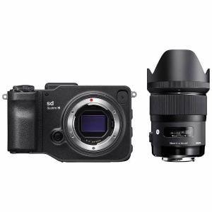 シグマ SD-QUATTROH-35 ミラーレス一眼カメラ sd Quattro H A 35mm F1.4 DG HSM レンズキット
