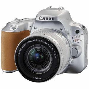 キヤノン EOSKISSX9-L1855KSL デジタル一眼カメラ EOS Kiss X9 EF-S18-55 F4 STM レンズキット シルバー