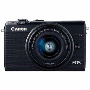 キヤノン EOSM100BK-1545ISSTMLK ミラーレス一眼カメラ 「EOS M100」 EF-M15-45 IS STMレンズキット ブラック