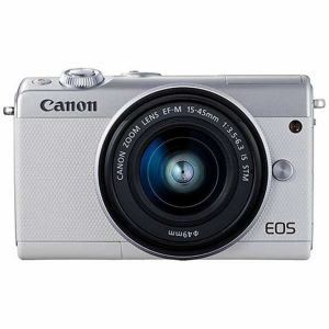 キヤノン EOSM100WH-1545ISSTMLK ミラーレス一眼カメラ 「EOS M100」 EF-M15-45 IS STMレンズキット ホワイト