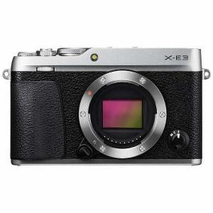 富士フイルム FX-E3S デジタルミラーレス一眼カメラ 「X-E3」ボディ シルバー