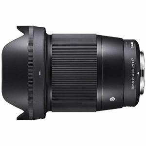 カメラレンズ シグマ レンズ ソニーEマウント 交換用レンズ 16mm F1.4 DC DN ソニーEマウント