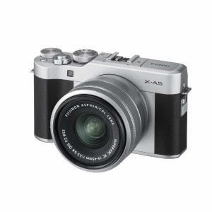 富士フイルム XA5LKITS ミラーレス一眼カメラ FUJIFILM X-A5 レンズキット シルバー