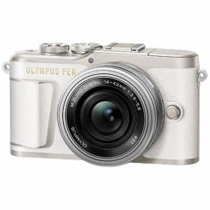 オリンパス EPL9-LKIT-WHT デジタル一眼カメラ「OLYMPUS PEN E-PL9」14-42mm EZレンズキット ホワイト