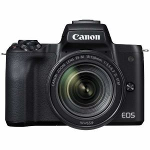 キヤノン EOSKISSM-L18150KBK ミラーレス一眼カメラ 「EOS Kiss M」 EF-M18-150 IS STM レンズキット (ブラック)