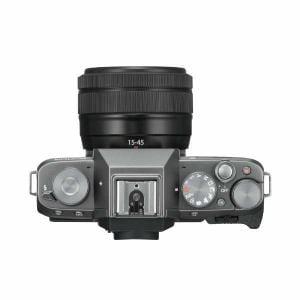 富士フイルム XT100-LKITDS ミラーレス一眼カメラ 「X-T100」レンズキット(ダークシルバー)