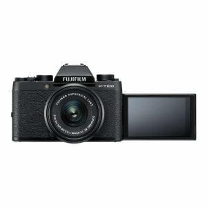富士フイルム XT100-LKITB ミラーレス一眼カメラ 「X-T100」レンズキット(ブラック)