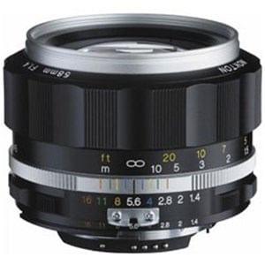 コシナ 交換レンズ NOKTON 58mm F1.4 SL IIS(シルバーリム)(CPU付きニコンAi-sマウント) ニコンFマウント