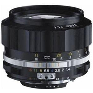 コシナ 交換レンズ NOKTON 58mm F1.4 SL IIS(ブラックリム)(CPU付きニコンAi-sマウント) ニコンFマウント