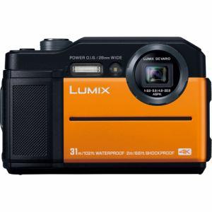 パナソニック DC-FT7-D コンパクトデジタルカメラ LUMIX(ルミックス) オレンジ