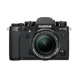 富士フイルム FX-T3LK-B ミラーレス一眼カメラ 「FUJIFILM X-T3」 レンズキット ブラック