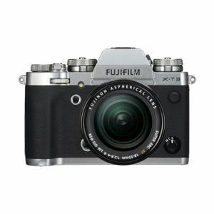 富士フイルム FX-T3LK-S ミラーレス一眼カメラ 「FUJIFILM X-T3」 レンズキット シルバー