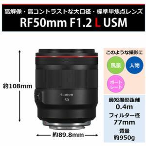 キヤノン 交換用レンズ RF50mm F1.2L USM