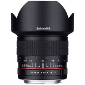 SAMYANG 交換レンズ 10mm F2.8 ED AS NCS CS APS-C用【FUJIFILM Xマウント】