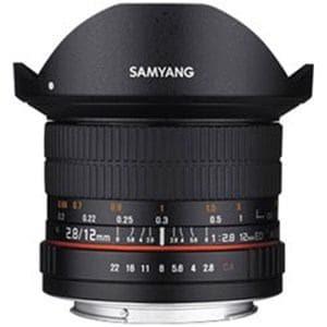 SAMYANG 交換レンズ 12mm F2.8 ED AS NCS Fisheye フルサイズ対応【ソニーA(α)マウント】