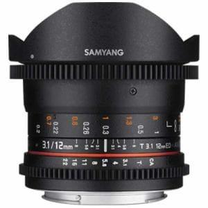 SAMYANG (サムヤン) 12mm T3.1 VDSLR ED AS NCS FISH-EYE ソニーα(A)用