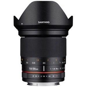 SAMYANG 交換レンズ 20mm F1.8【フジXマウント】