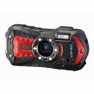リコー WG-60RED デジタルカメラ「RICOH WG-60」(レッド)