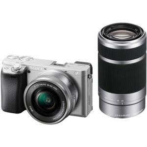 ソニー ILCE-6400YS デジタル一眼カメラ ダブルズームレンズキット シルバー