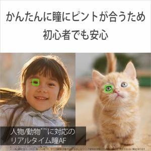 ミラーレス一眼 ソニー SONY ILCE-6400M B α6400 高倍率ズームレンズキット ブラック 一眼 カメラ デジタルカメラ