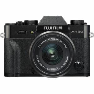 富士フイルム FUJIFILM X-T30 XC15-45mm ミラーレス一眼カメラ レンズキット ブラック