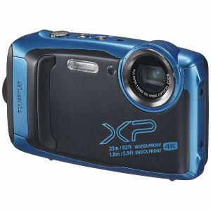 富士フイルム FFX-XP140SB XP140 コンパクトデジタルカメラ FinePix(ファインピックス) スカイブルー