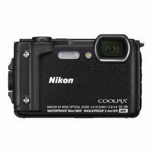 Nikon W300BK デジタルカメラ COOLPIX  ブラック