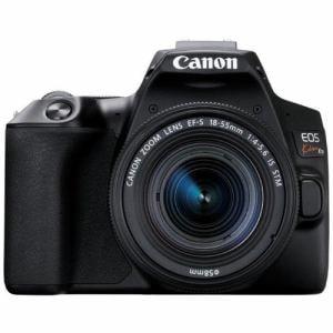 キヤノン EOSKISSX10 LKIT BK デジタル一眼カメラ EOS Kiss レンズキット 黒