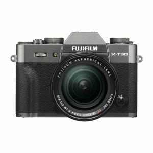 富士フイルム FUJIFILM X-T30 ミラーレス一眼カメラ XF18-55mm レンズキット チャコールシルバー