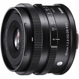 シグマ 45mm F2.8 DGDN (Contemporary) SE 交換用カメラレンズ ソニーEマウント