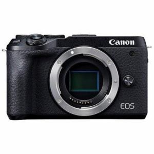【クリックで詳細表示】キヤノン EOSM6MK2 BODYBK ミラーレスカメラ EOS M6 Mark II (ブラック)