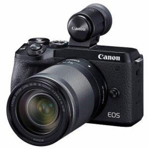 【クリックで詳細表示】キヤノン EOSM6MK2EVF LLKBK ミラーレスカメラ EOS M6 Mark II (ブラック)・EF-M18-150 IS STM レンズEVFキット