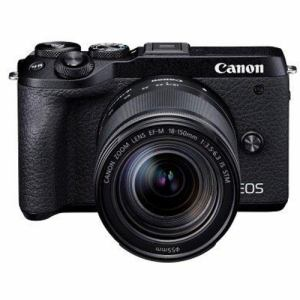 【クリックで詳細表示】キヤノン EOSM6MK2 LLKBK ミラーレスカメラ EOS M6 Mark II (ブラック)・EF-M18-150 IS STM レンズキット
